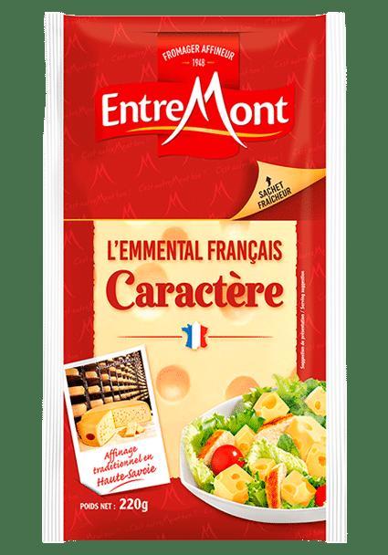 L'Emmental français caractère Entremont.