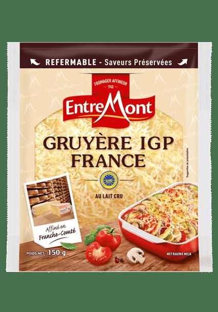 Gruyère Entremont IGP France râpé