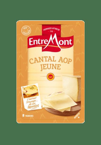 Tranches de Cantal Entremont.