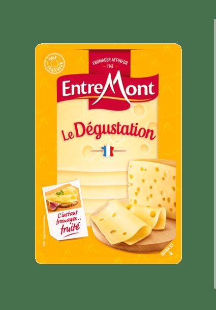 Dégustation en tranches Entremont.