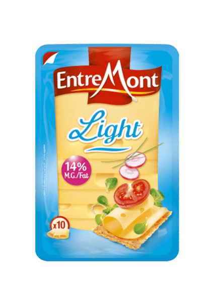 Fromages light en tranches.