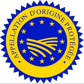 Logo appellation d'origine protégée.