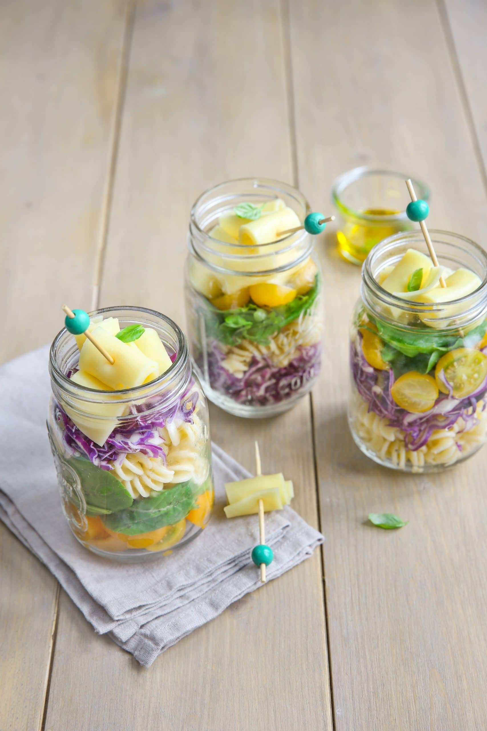 Entremont Degustation cheese salad jar