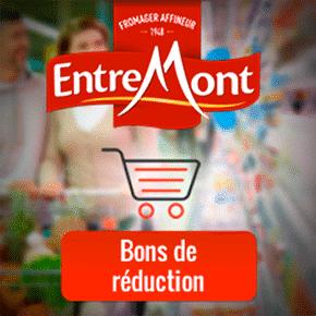 Bons de réduction fromage Entremont