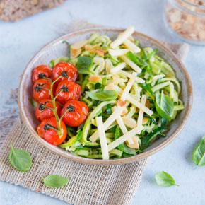Salade de courgettes à l'emmental Entremont