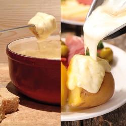 Tranche raclette fromage fondu
