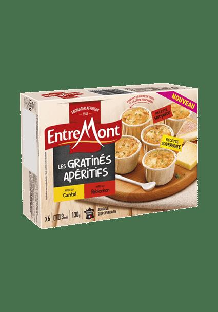 Gratinés apéritifs Entremont.