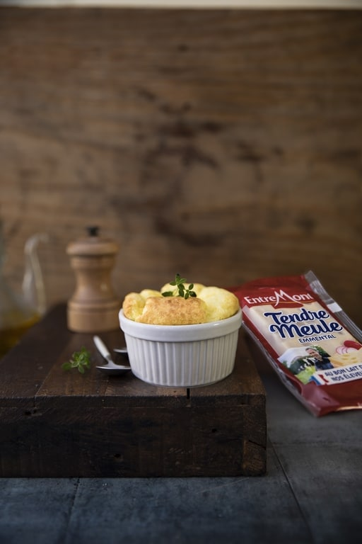 Mini Tendre Meule cheese soufflés