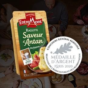 Raclette Saveur d'Antan médaillée d'argent