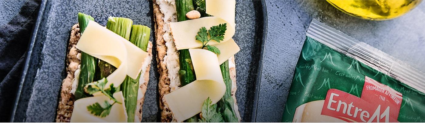 Recette au fromage Entremont.