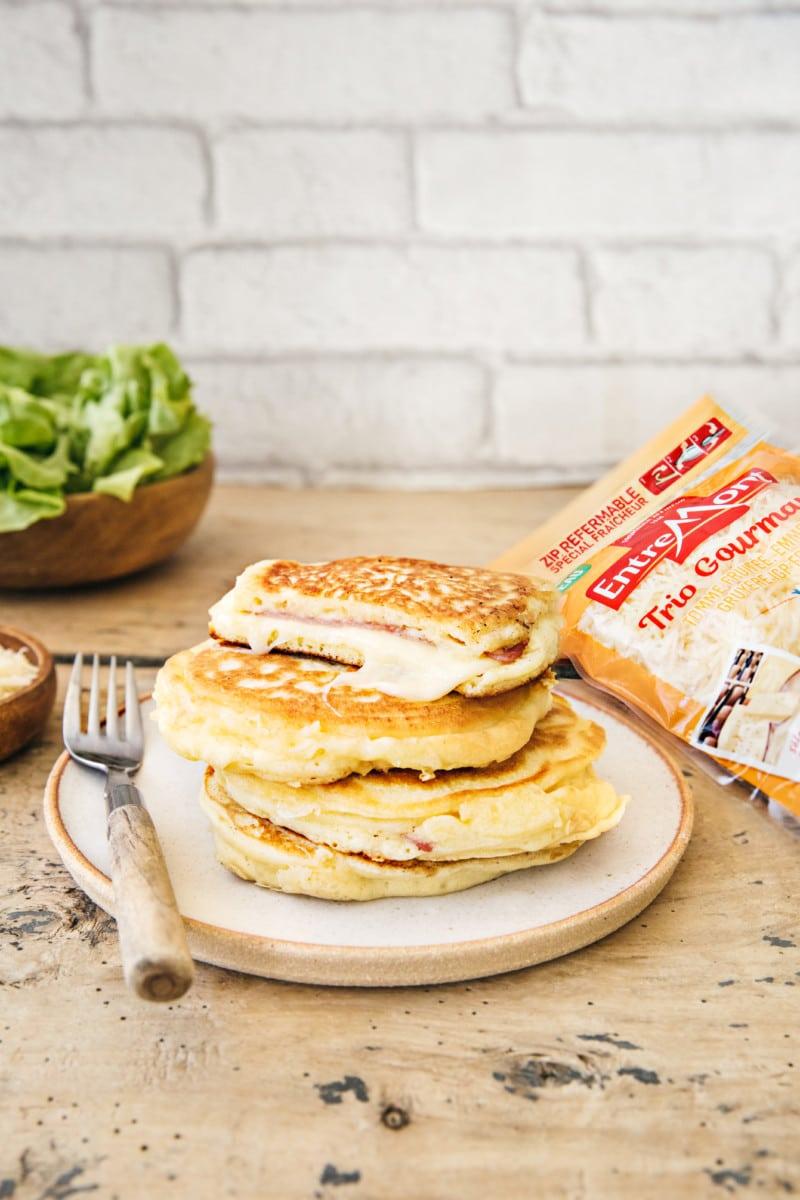Pancakes salés au Trio Gourmand Entremont