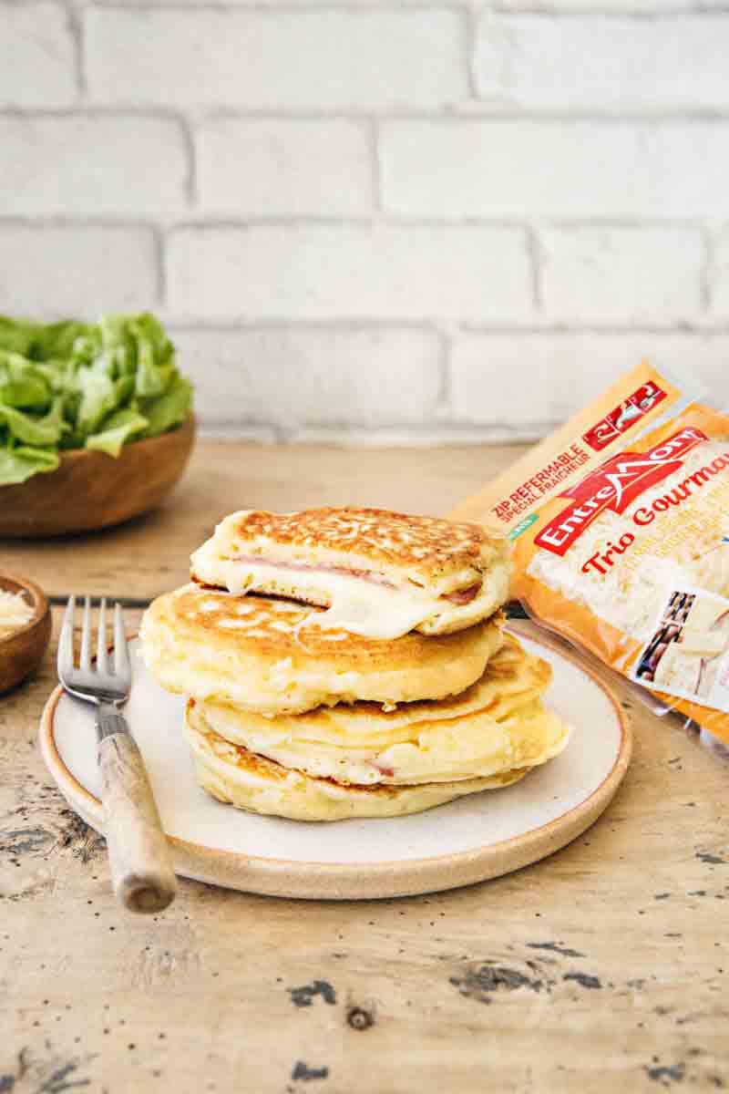 Recette pancakes Trio Gourmand Entremont