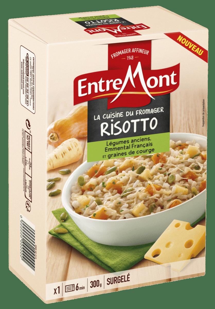 Risotto aux légumes anciens Entremont.