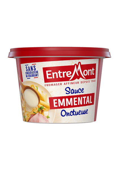 Sauce Emmental entremont onctueuse