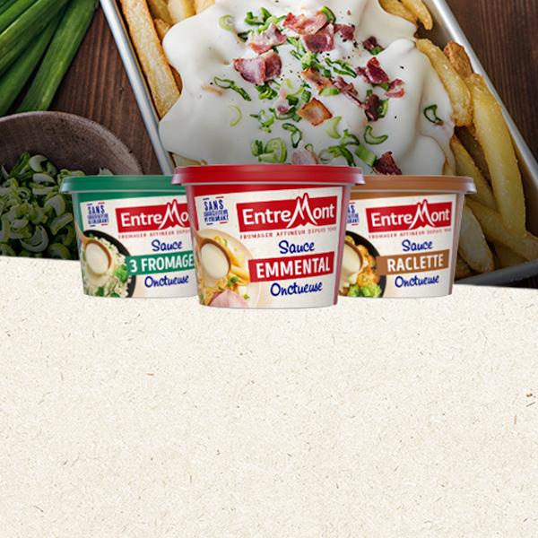 Découvrez nos trois nouvelles sauces fromagères !