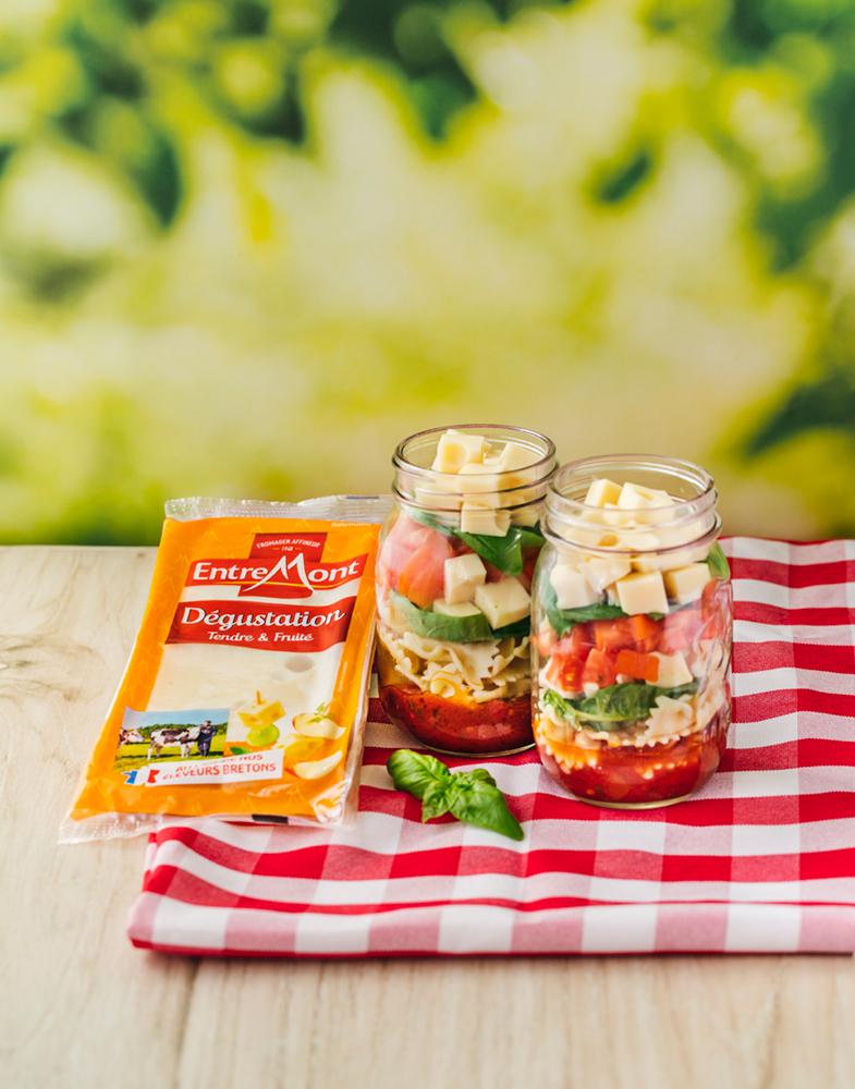 Salad jar au degustation